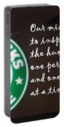 Starbucks Mission Portable Battery Charger