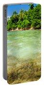 Starfish In Clear Water Portable Battery Charger