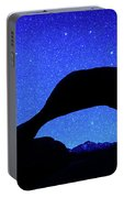 Starry Arch At Mobius Arch, Alabama Portable Battery Charger