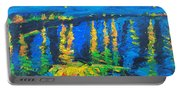 Starry Night Bridge Portable Battery Charger