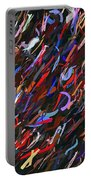 Stars In The Night Sky Abstract 3a Portable Battery Charger