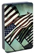 Stars N  Stripes Portable Battery Charger