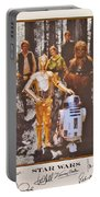Stars Wars Autographed Movie Poster Portable Battery Charger