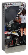 Starting Line At Las Vegas 2008 Speed Way Strip Portable Battery Charger