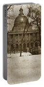 State Building Boston Massachusetts Circa 1900 Portable Battery Charger