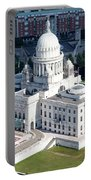 State Capitol Buildng Providence Rhode Island Portable Battery Charger