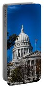 State Capitol In Madison Wi Portable Battery Charger