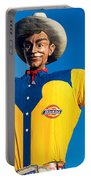 State Fair Of Texas Big Tex Yellow Portable Battery Charger