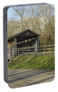 State Line Or Bebb Park Covered Bridge Portable Battery Charger