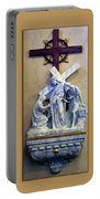 Station Of The Cross 06 Portable Battery Charger