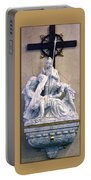 Station Of The Cross 07 Portable Battery Charger
