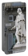 Statue Of Carlo Goldoni Portable Battery Charger