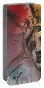 Statue Of Liberty New York Painting Portable Battery Charger