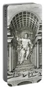 Statue Of Olympian Zeus Portable Battery Charger