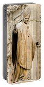 Statue Of Pope John Paul II Portable Battery Charger