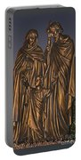 Statue Of The Holy Family  Portable Battery Charger