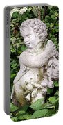 Statue Watercolor Effect Portable Battery Charger
