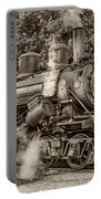 Steam Power Sepia Portable Battery Charger