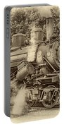 Steam Power Sepia Vignette Portable Battery Charger