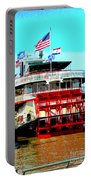 Steamer Natchez Paddleboat Portable Battery Charger