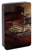 Steampunk - A Crusty Old Typewriter Portable Battery Charger