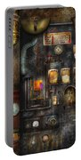 Steampunk - All That For A Cup Of Coffee Portable Battery Charger
