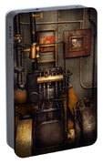 Steampunk - Back In The Engine Room Portable Battery Charger