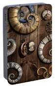 Steampunk - Clock - Time Machine Portable Battery Charger