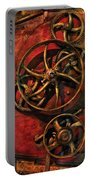 Steampunk - Clockwork Portable Battery Charger