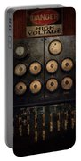 Steampunk - Electrical - Center Of Power Portable Battery Charger by Mike Savad