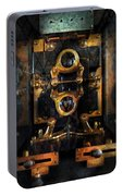 Steampunk - Electrical - The Power Meter Portable Battery Charger