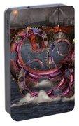 Steampunk - Enteroctopus Magnificus Roboticus Portable Battery Charger
