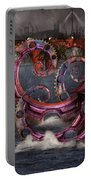 Steampunk - Enteroctopus Magnificus Roboticus Portable Battery Charger by Mike Savad