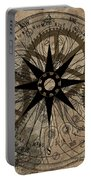 Steampunk Gold Gears II  Portable Battery Charger