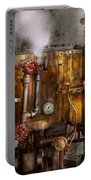 Steampunk - Plumbing - Distilation Apparatus  Portable Battery Charger