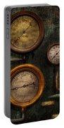 Steampunk - Plumbing - Gauging Success Portable Battery Charger