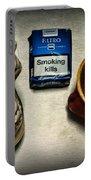 Steampunk Smoking Break Portable Battery Charger