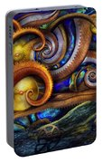 Steampunk - Starry Night Portable Battery Charger