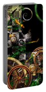 Steampunk - Surreal - Mind Games Portable Battery Charger