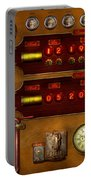 Steampunk - Temporal Flux Portable Battery Charger by Mike Savad