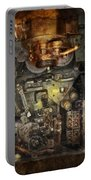 Steampunk - The Turret Computer  Portable Battery Charger by Mike Savad