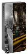 Steampunk - War - We Are Ready - Side By Side Portable Battery Charger
