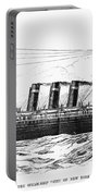 Steamship - City Of New York Portable Battery Charger