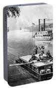 Steamship, 1870 Portable Battery Charger