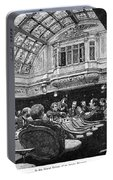 Steamship: Saloon, 1890 Portable Battery Charger