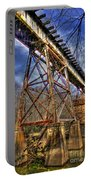 Steel Strong Rr Bridge Over The Yellow River Portable Battery Charger
