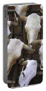 Steer Skulls  - New Mexico Portable Battery Charger