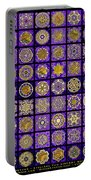 Stellars Two Dingbat Quilt Portable Battery Charger