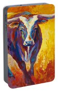 Stepping Out - Longhorn Portable Battery Charger
