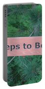 Steps To The Beach Portable Battery Charger